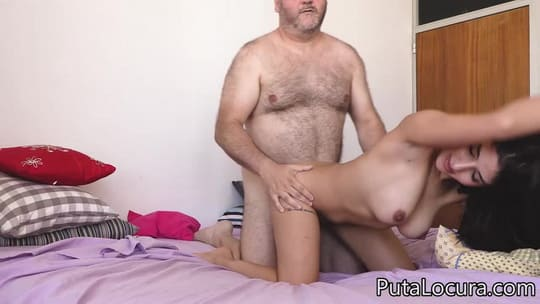 Sweet Latina Teen Sofia Habibi Getting Dicked by Fat Old Fart